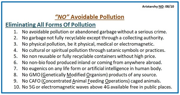 No Avoidable Pollution