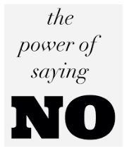 "Power of ""NO"""